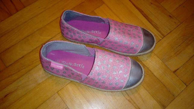 Półbuty buty kapcie espadryle, rozm 34/wkl 21cm