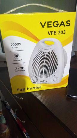 тепловентилятор новый  в коробке!