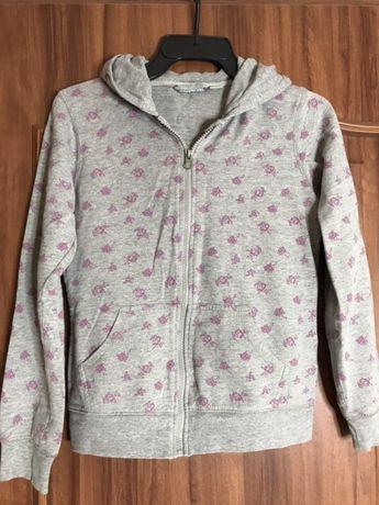 Bluza z kapturem dziewczęca rozm. 134-140 cm