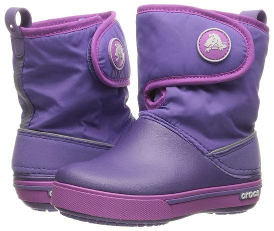 Детские зимние сапоги Крокс CROCS Kids' Crocband II.5 Gust Boot С11 J1