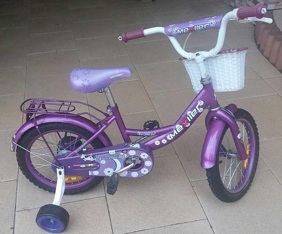 Rower dziecięcy prowadnica i bocznie kółka