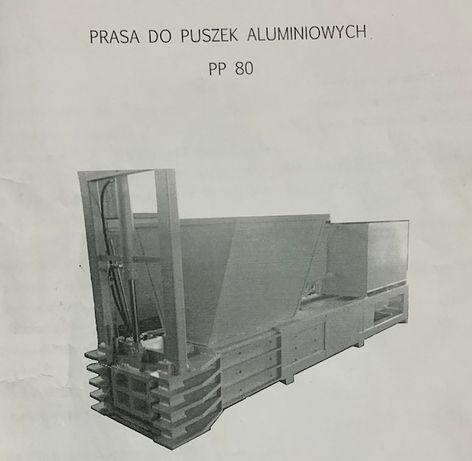 Automatyczna prasa/paczkarka do puszek aluminiowych PP 80