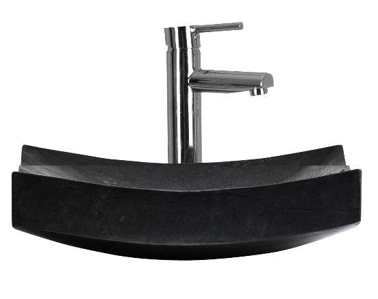 Lavatório Pedra Quadrado Stone Sink - by OVO Home Design