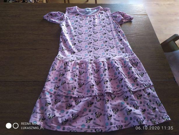Ubrania dla dziewczynki rozmiar 134.