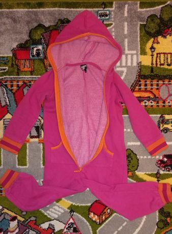 Пижама слип комбинезон 3-4 г девочке