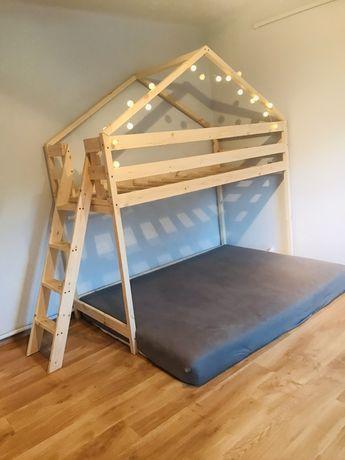 Łóżko Domek na Antresoli. Wysyłka Gratis !