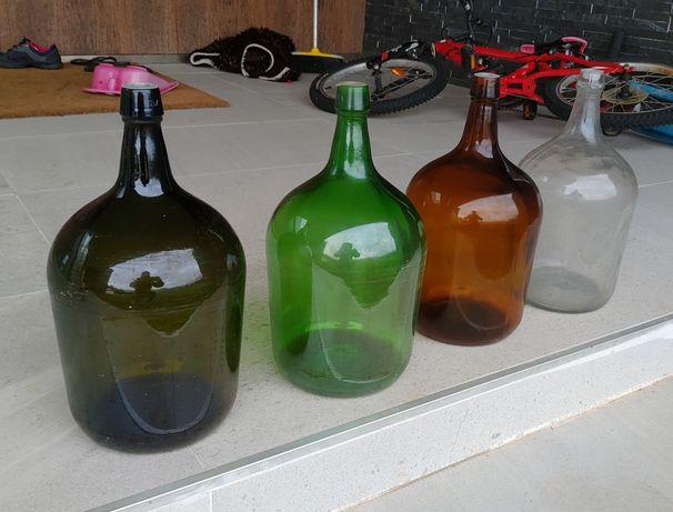 Garrafões Vidro 5 litros