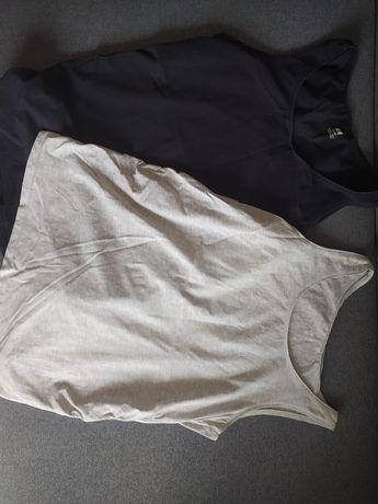 Dwie koszulki ciążowe oraz dwie piżamy ciążowe