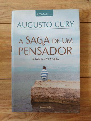"""Livro Augusto Cury """"A saga de um pensador"""""""