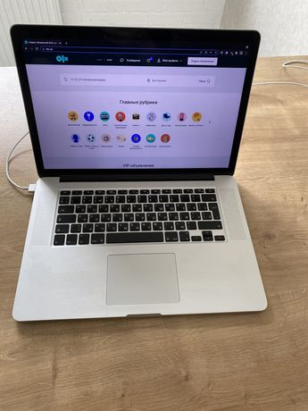 """MacBook pro a1398 15"""" 512gb ssd i7"""