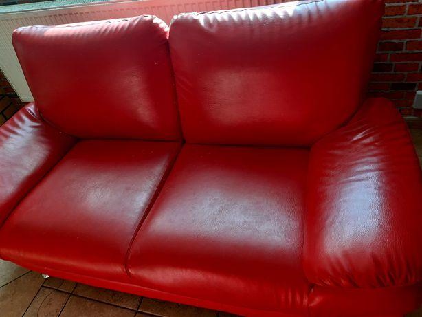 Sofa dwójka  i fotel