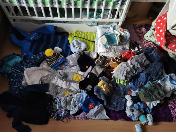 Mega paka ubrań dla chłopca