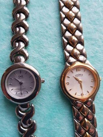 Dwa zegarki damskie bez baterii