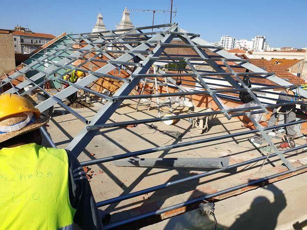 Coberturas em telhados