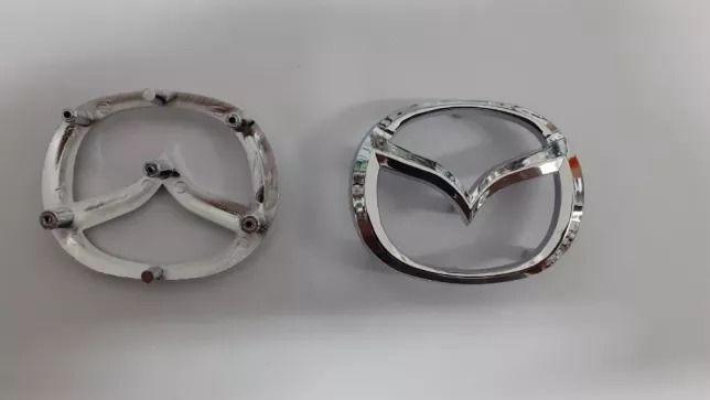 Эмблема значок лого Mazda 3 bk bl bm на руль мазда CX 5,CX 7 новый