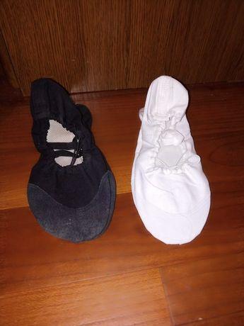 Продаются танцевальные балетки, чёрные и белые. Новые.