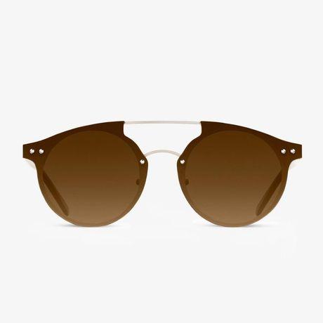 Oculos de sol Dr Franklin DOHA GOLD BROWN