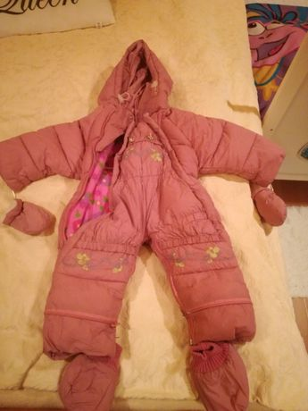 Śpiworek cieplutki dla dziewczynki 12-18 miesięcy