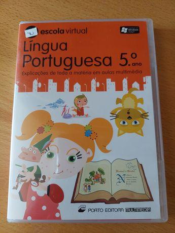 DVD educacional Português 5° ano