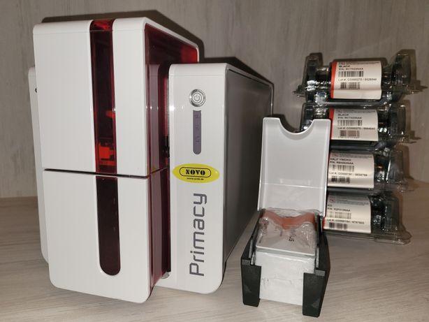 Унікальный принтер для пластиковых карт Evolis Primacy 1200dpi