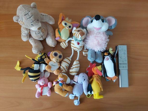 Набор мягких игрушек 11 штук