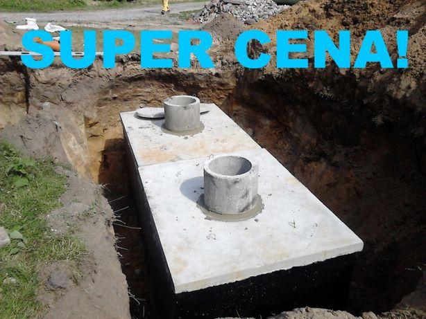 szambo 8m3 szamba betonowe zbiornik na wodę piwnica betonowa kanał