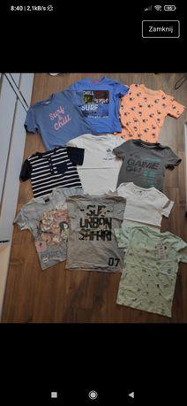 Koszulki t-shirt krótki rękaw r. 122, 128 zara, cocodrillo, 4f