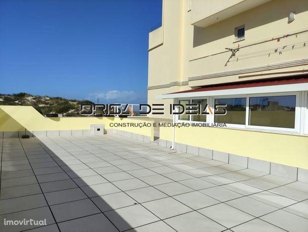 T2 Praia da Barra c/ terraço e vista de mar