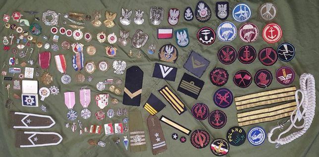 Medale odznaki specjalki naszywki kolekcja zamienię na MDLot Puck