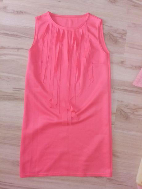 Neonowa sukienka r L