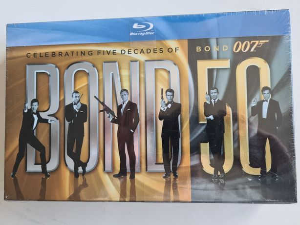 Kolekcja filmów James Bond agent 007
