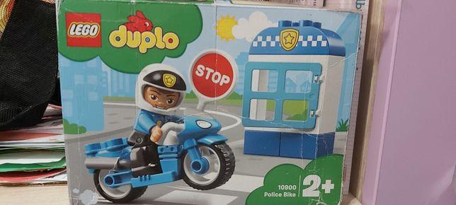 Sprzedam lego duplo 10900, policja na motorze