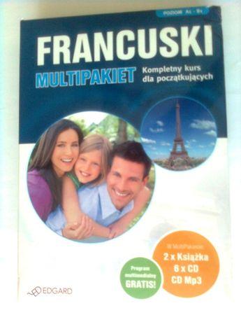 Francuski A1 B1 multipakiet kompletny kurs dla początkuj.