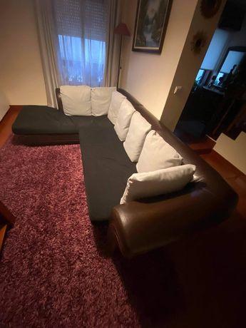 Sofa com chaise lounge 290x190