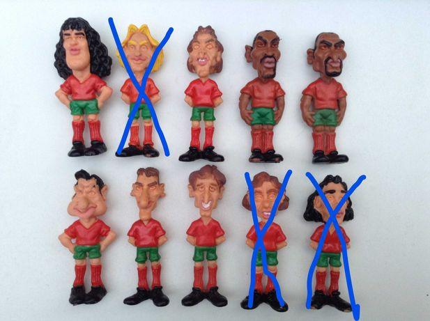 Bonecos PVC UEFA EURO 1996 - FUTEBOL -Vitor Baia , Figo - Cada 3 €