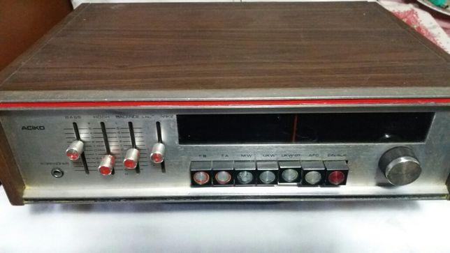 Amplificador/radio sintonizador ( tuner ) Aciko antigo impecavel