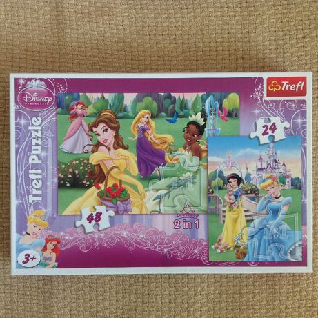 puzzle 2w1 Disney Princess
