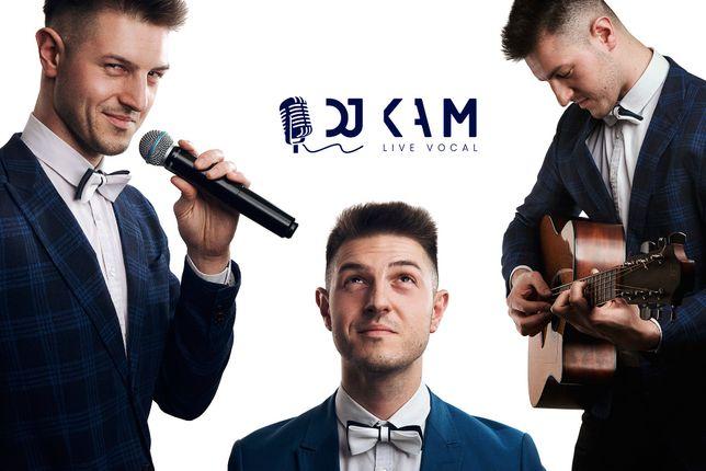 DJ KAM - Śpiewający DJ / Konferansjer - Wesele Event Bankiet 18tka