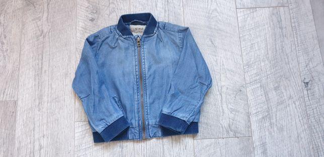 джинсовая куртка бомбер 92 98 2 3 года для мальчика бомбер next zara