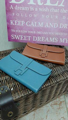 Клатч - кошелёк Hermes. Подарок на новый год