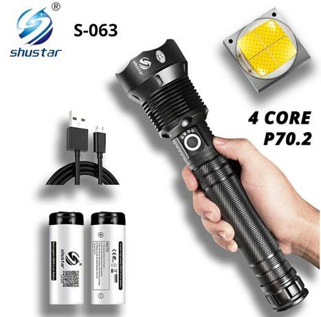 Lanterna Led XHP.70 de Alta potência 12000LM (Incluí 2x baterias) Novo