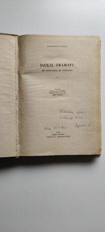 Allardyce Nicoll - Dzieje dramatu - PIERWSZE WYDANIE 1962