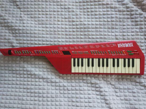 Yamaha SHS10R (SHS-10) Red Keytar FM Digital Synthesizer MIDI Keybord