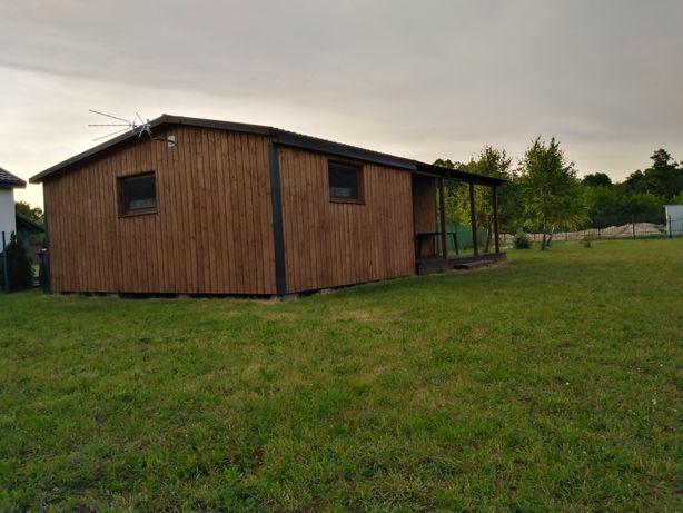 Domek  letniskowy Czarny Las , okolice jeziora Piaseczno.