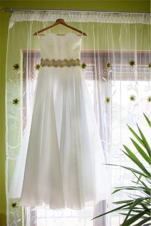 Suknia ślubna r 38