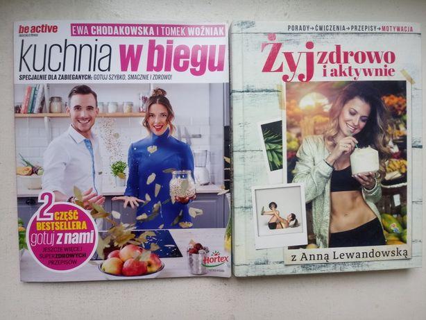 Żyj zdrowo i aktywnie Anna Lewandowska kuchnia w biegu Ewa Chodakowska