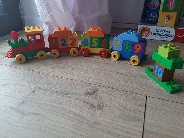 LEGO DUPLO 10558 Pociąg z cyferkami, Klocki + GRATIS