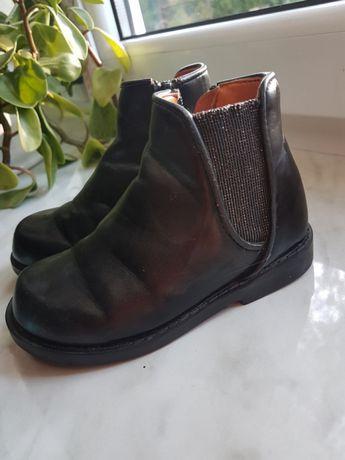 TAO Botki półbuty buty jesien wiosna przejsciowe skóra roz 24