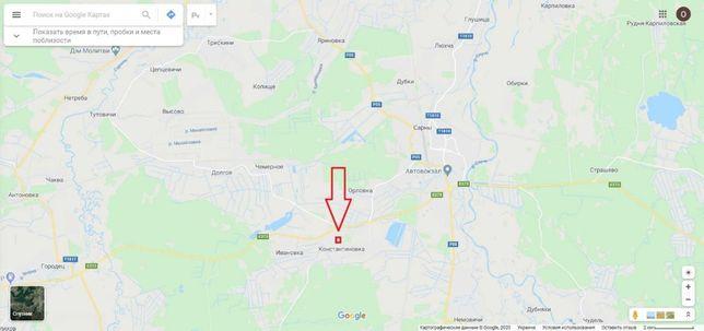 Земельна ділянка 0.24Га комерційного призначення Київ-Варшава