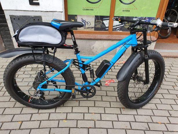 Rower Elektryczny 750W, FATBIKE- ZOBACZ Warto